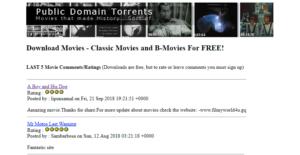 public domin torrent